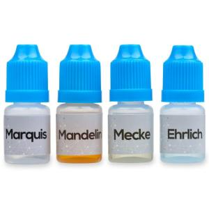 The Chemist Package Part 2: Marquis Mandelin Mecke And Ehrlich Reagent Testing Kit