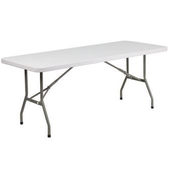 6ft Banquet Folding Tables Plastic