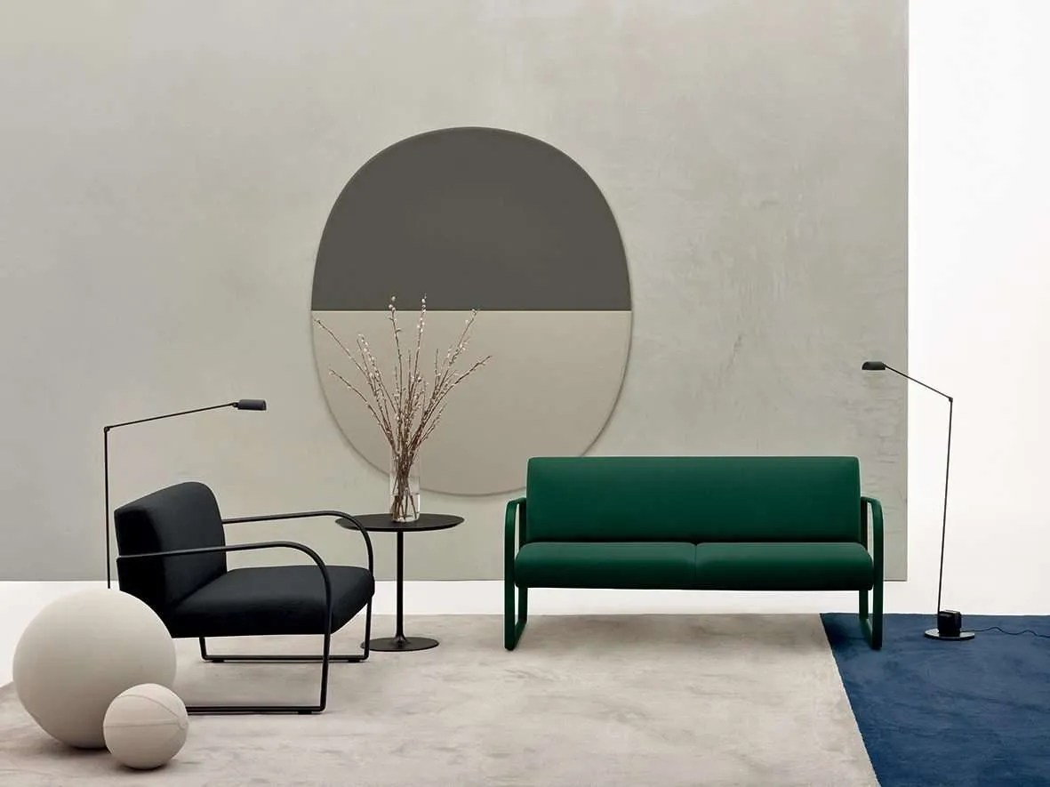 Arper_Arcos_armchair+2seats-sofa_ph-MarcoCovi_sled-upholstery_6101+6102