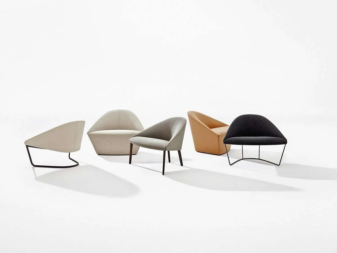 Arper_Colina_L_armchair_lounge_MarcCovi_Collection_4302+4305+4304+4301+4303