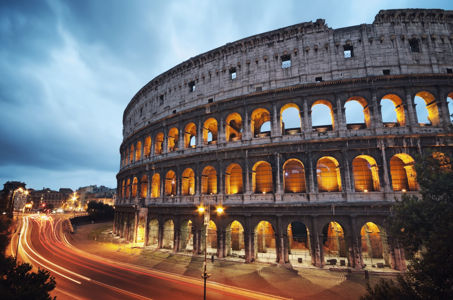 The Coliseum in Rome, Italy - Inspirational Stories