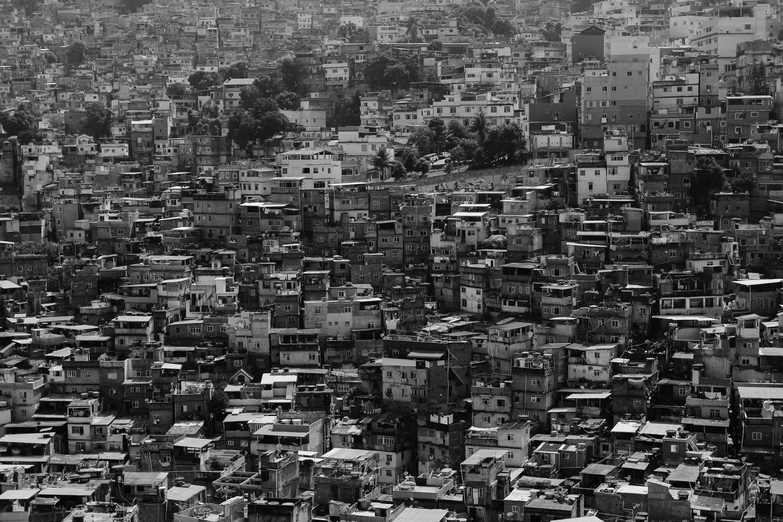 Slum in Brazil