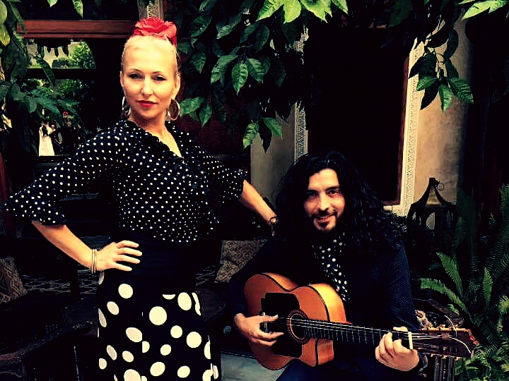 Kati and David - flamenco Seville