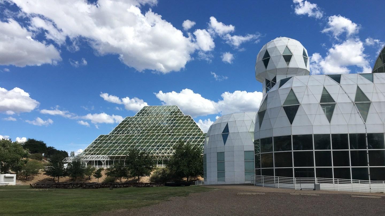 Biosphere 2 exterior