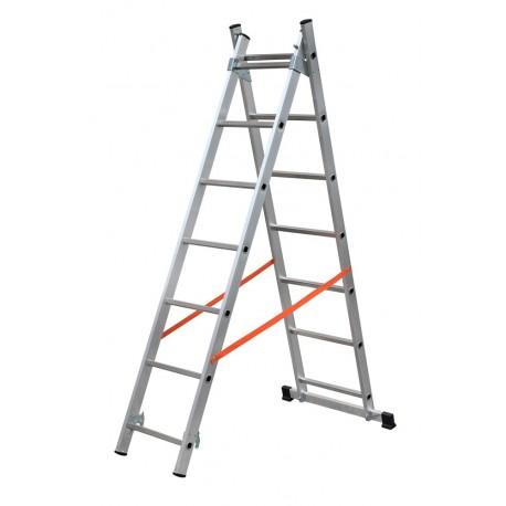 Gierre Modula AL305, 2 section extending aluminium ladder
