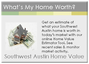 Southwest Austin home values