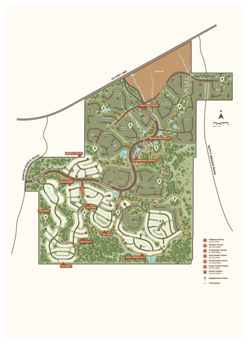 belterra amenity map