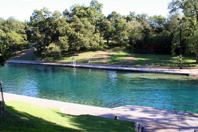 things to do on your first visit to austin barton springs pool