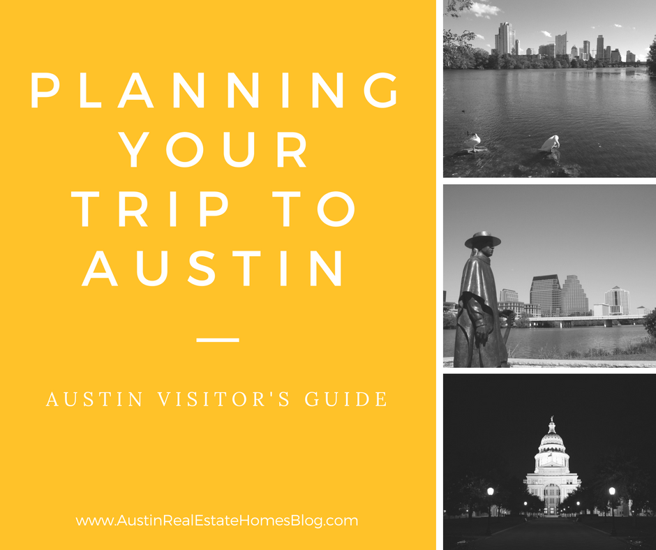 planning your trip to austin