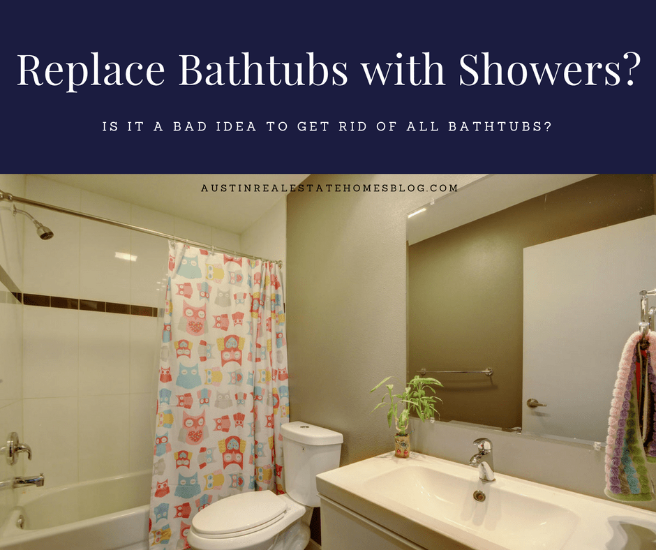 replace all bathtubs with shower