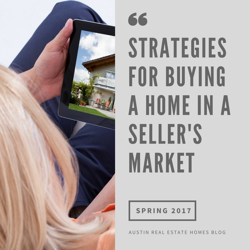 how to buy a home in a seller's market