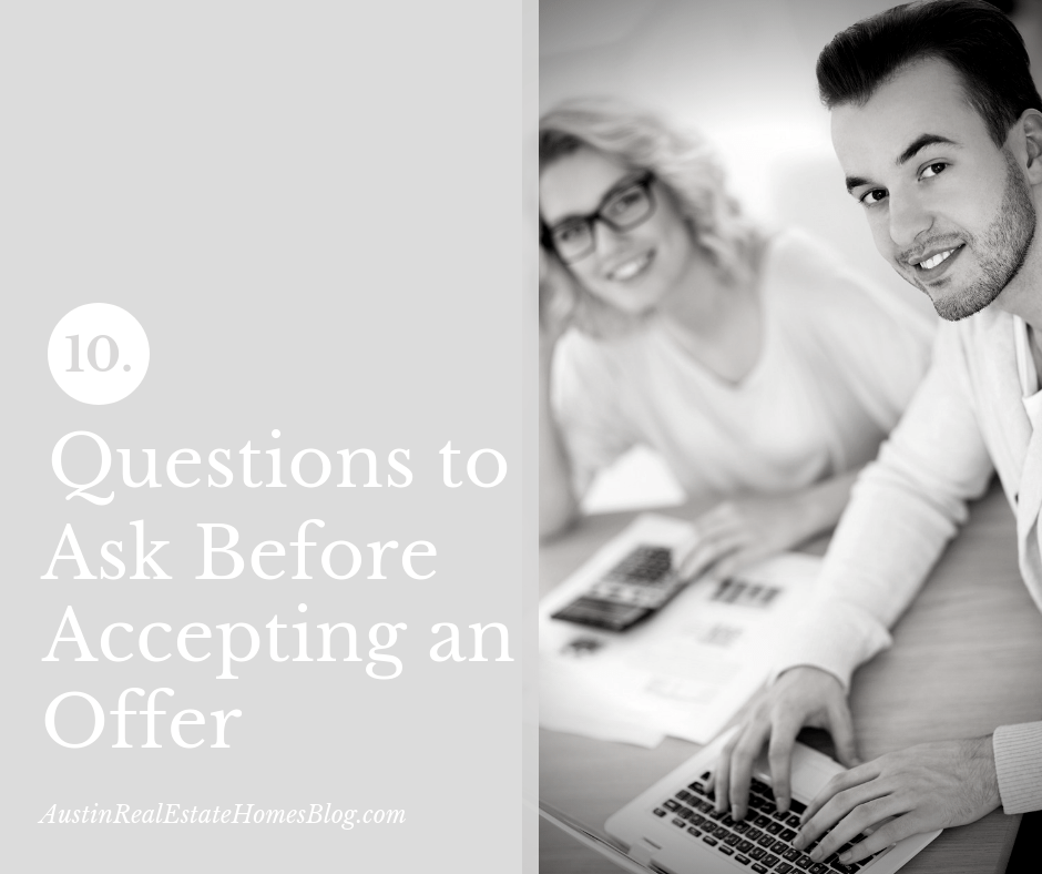 10 questions to ask before accepting an offer in austin tx