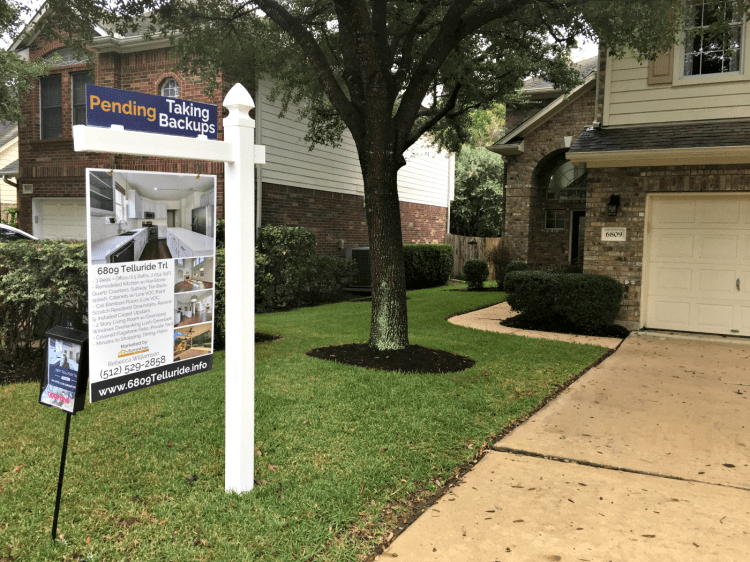 eleven oaks realty marketing plan custom real estate sign
