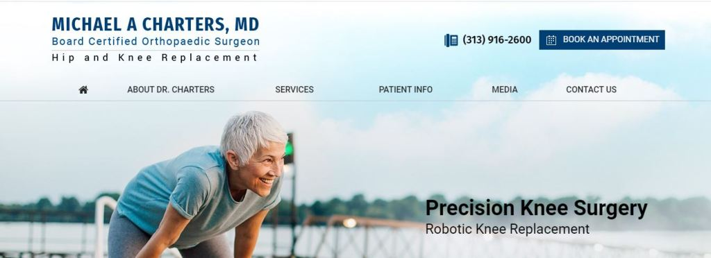 Michael A Charters, MD Best Orthopedic Surgeons In Detroit