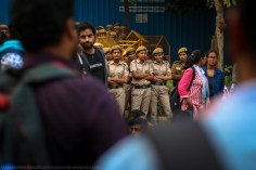 Someone at the sit-in mentioned how issues of equitable access to quality education affects the families of policemen as much as those of other lower-middle class or middle class households. Needless to say, one of their siblings could be directly affected by what the students are concerned about.