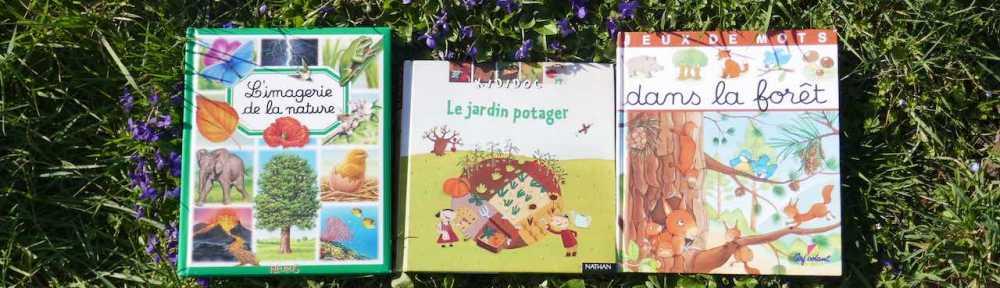 découvrir la nature en livres enfants