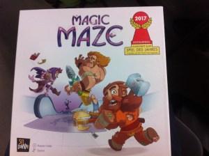 règles du jeu collaboratif Magic Maze, jeu de l'année 2017- jeux