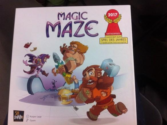 règles du jeu collaboratif Magic Maze, meilleur jeu de l'année 2017
