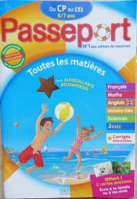 cahier de vacances passeport cp au ce1
