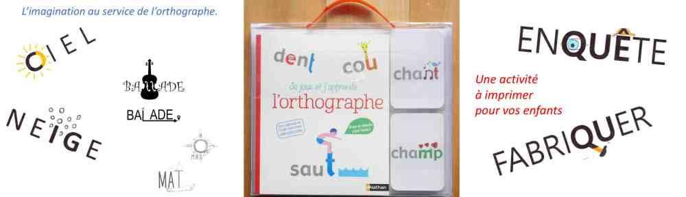 mémoriser l'orthographe des mots avec des dessins