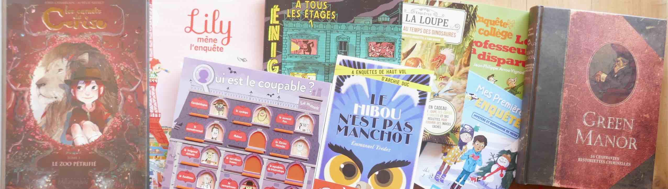 Des Histoires D Enquete Pour Detectives Entre 3 Et 103 Ans