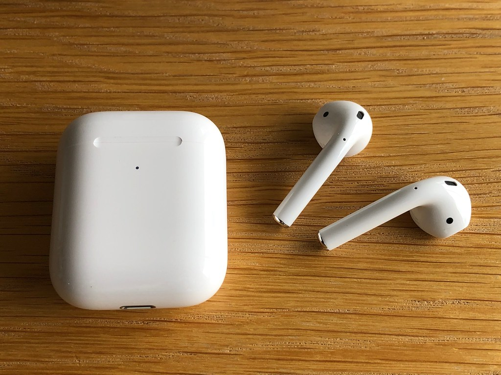 Air-buds with charging case