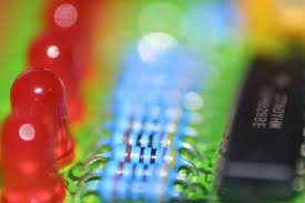 Multicolored LED plate