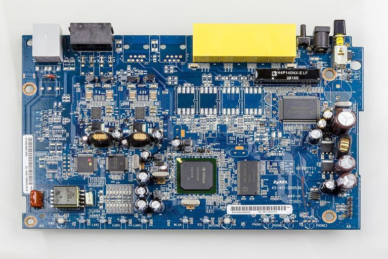 Main board of Wi-Fi router
