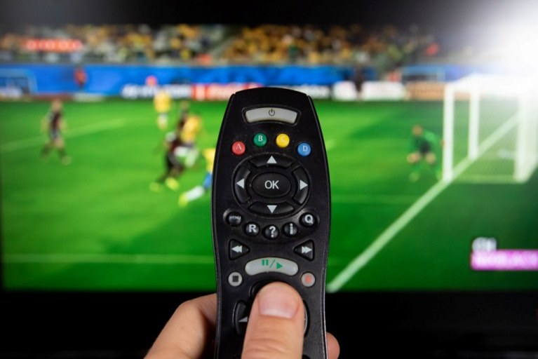 Tv remote control working