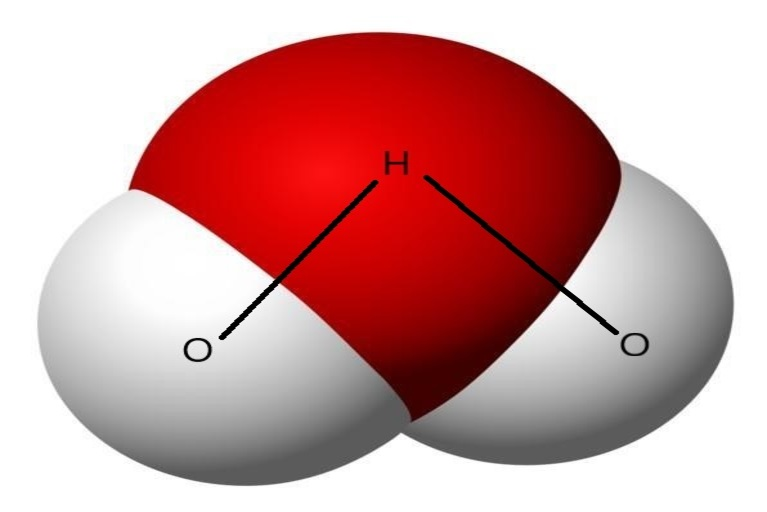 Water molecular structure