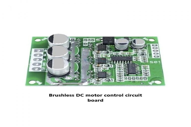 Control board for bladeless fan