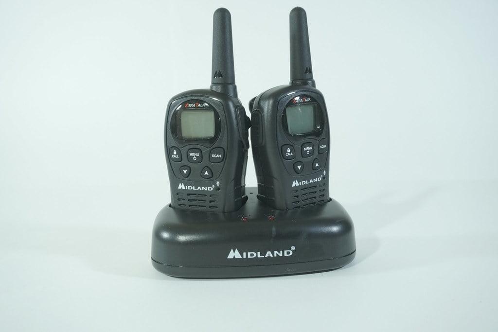 A set of Walkie-talkies