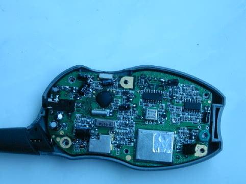 Circuit board of Walkie-talkies