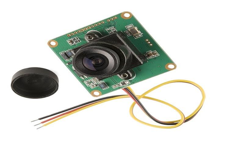 Camera module of video doorbell