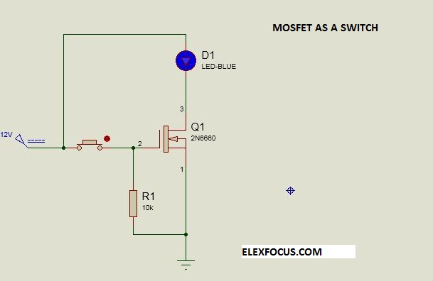 Mosfet switch: How to use Mosfet as a Switch
