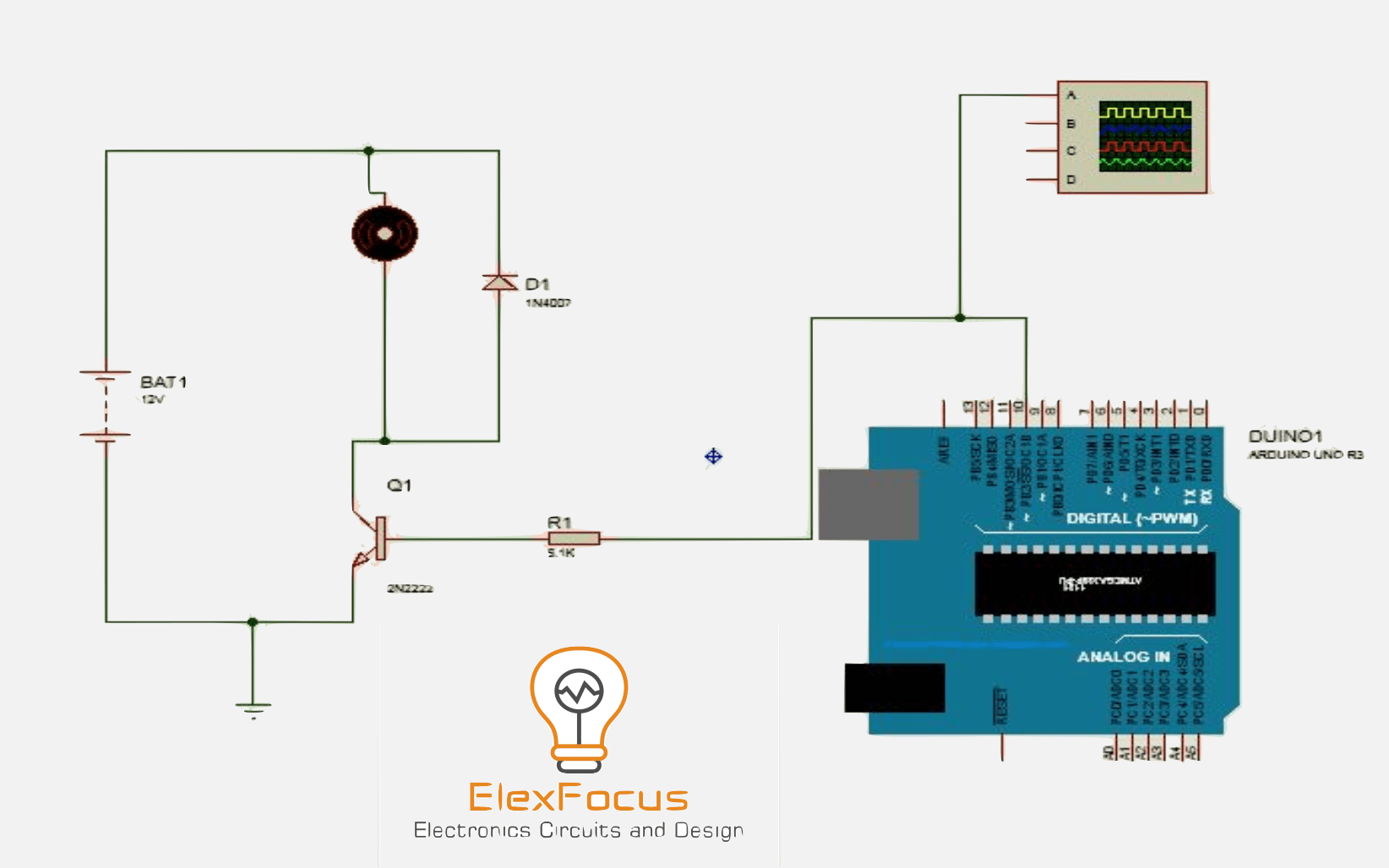 Pwm Based Dc Motor Speed Controller Circuit Diagram Arduino Page 8 Microcontroller Circuits Nextgr 12v 3a Automation