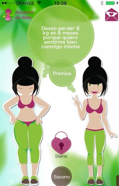 Asistente de dieta - Pérdida de peso