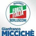 Gianfranco Miccichè Forza Italia Musumeci