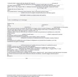 modulistica presentazione liste