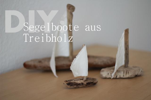 DIY Segelboote aus Treibholz machen  elf19de