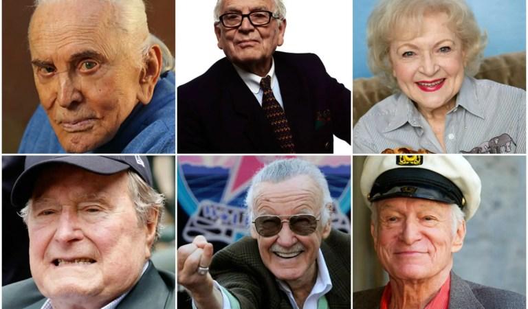 ¿2016 asesino? Espera ver esta lista de famosos que podrían morir en 2017 según «expertos»