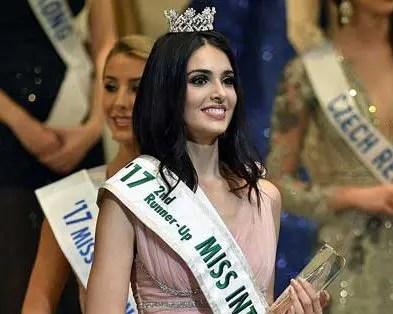 Diana Croce resultó segunda finalista en el Miss Internacional 2017 ?