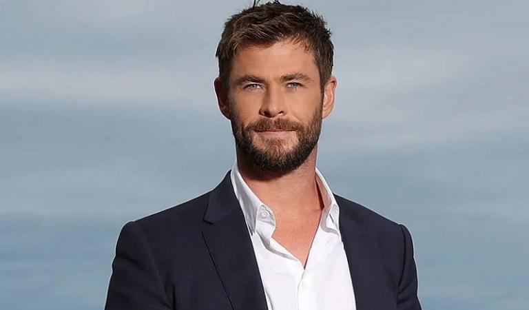 Chris Hemsworth está entrenando full para Thor: Love and Thunder