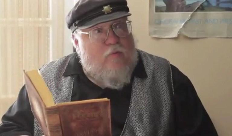 George R.R. Martin compartió su cameo eliminado en Game of Thrones