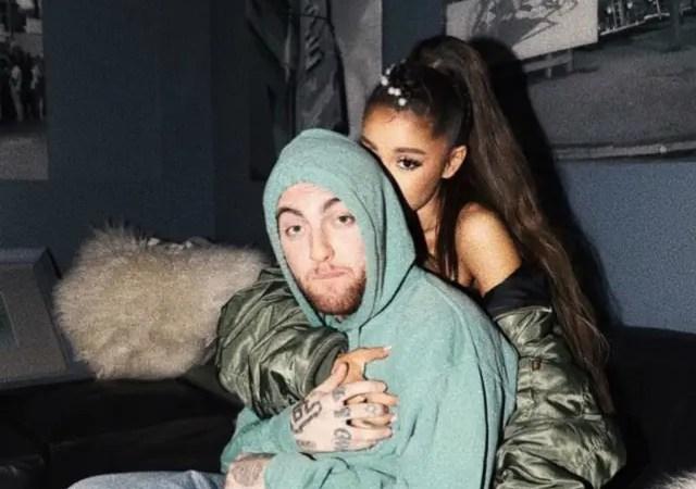 Tank U Next! Ariana Grande ocultó el tatuaje de su ex Pete Davidson con otro dedicado a Mac Miller