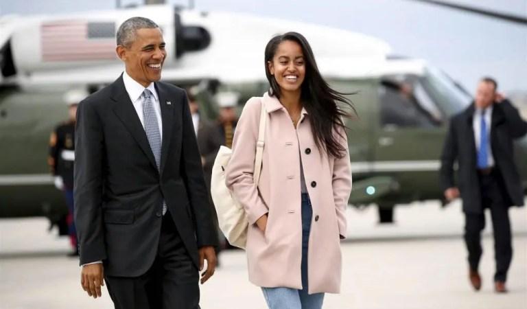 ¡Decreto presidencial! A la hija de Obama le luce bien el bikini blanco [Fotos]