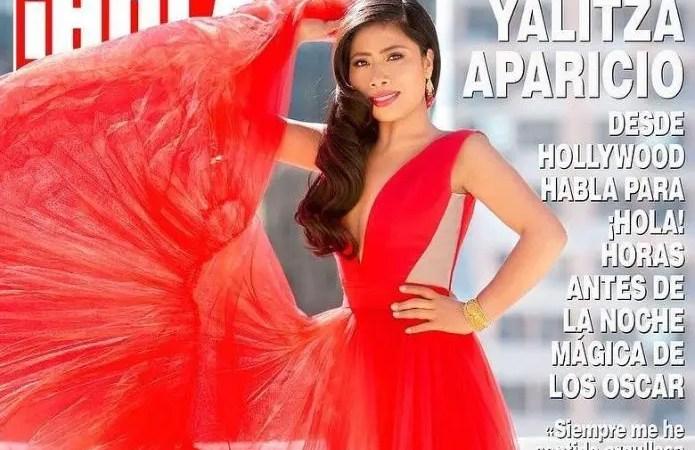 ¡Vuelve la polémica! photoshopearon el cuerpo de Yalitza Aparicio para la portada de Hola ??