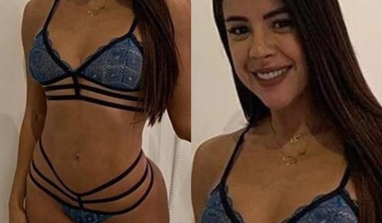 ¡Se le inflaron! El antes y después de las boobies de Kerly Ruiz