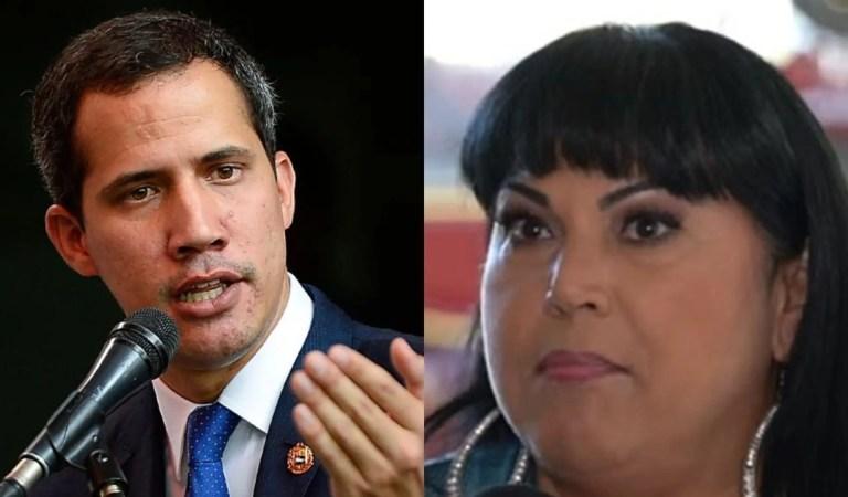 ¡Contundente! Esto le replicó Juan Guaidó a Liliana Morillo [+FOTO]???