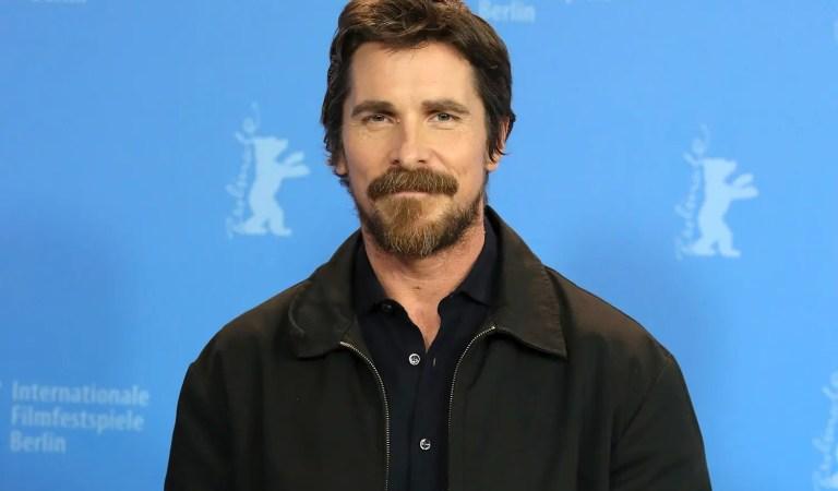 Pillan a Christian Bale en el  rodaje de Thor: Love and Thunder